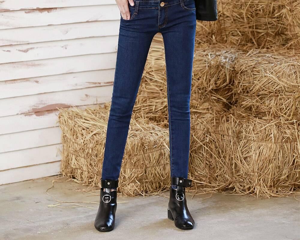 Jeans de cintura alta para mujer - supersale72